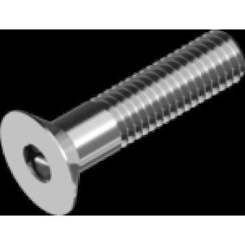 Винт М8x40 потай нержавеющая сталь А2 шлиц внутренний шестигранник IMB DIN7991