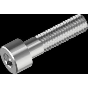 Винт M20х35 цилиндрическая головка под шестигранный ключ класс прочности 8.8 покрытие: цинк белый IMB DIN912