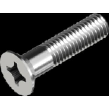 Винт М6х10 потайная головка нержавеющая сталь А4 PH DIN965