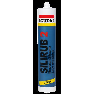 Герметик нейтральный Silirub 2 силикон серый 310 мл
