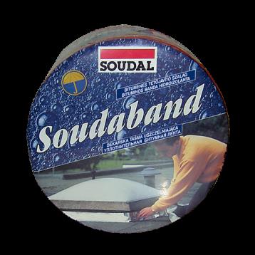 Лента  битумная SOUDABAND 22,5 см цвет: Алюминий