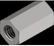 Гайка переходная удлиненная DIN6334