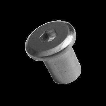 Гайка Эриксона M8 цилиндрическая головка оцинкованная