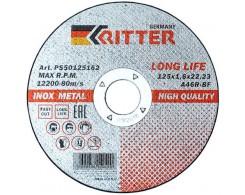 Круг отрезной Ritter LongLife HQ 115х1,0х22.2 А60R-BF-T41