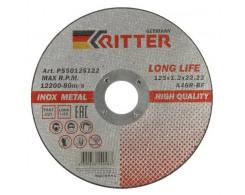 Круг отрезной Ritter LongLife HQ 125х1,2х22.2 мм A46R-BF-T41