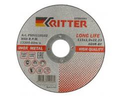 Круг отрезной Ritter LongLife HQ 125х1,0х22.2 А60R-BF-T41