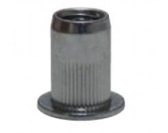 Гайка клеп. М3х0.5-2 стальная, цилиндр.насечка. CN1-CB-S Harpoon