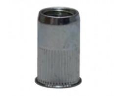 Гайка клеп. М3х0.5-2 стальная, цилиндр.насечка, умен. борт CN1-UB-S Harpoon