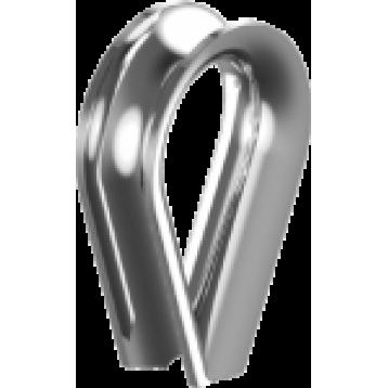 Коуш 9 мм цинк белый DIN 6899