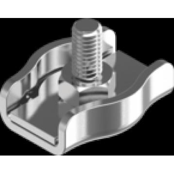 Зажим для троса одинарный 6 мм Simplex оцинкованный