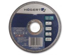 Диск отрезной по металлу 125 х 1,0 х 22,23 мм, HT6D602, HOEGERT