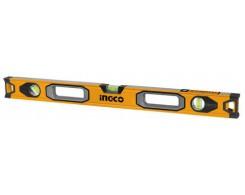 Уровень INGCO HSL08200 INDUSTRIAL, 2м, алюминиевая кромка, погрешность 0,5мм на метр