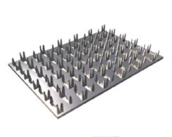 Пластина соединительная 105x180x1.0 с шипами PSE-105x180