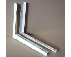 Кронштейн блока кондиционера 450х450х37х2,0 мм, белый KRC-450 (2шт комплект)  (16)