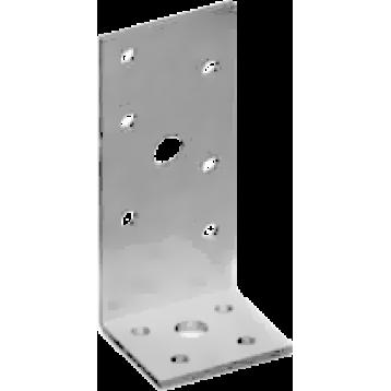 Крепежный уголок ассиметричный нержавеющий  KUAS_nerg-55