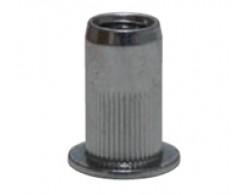 Гайка клеп. М6x3.0-5 стальная, цилиндр.насечка. CN2-CB-S Harpoon