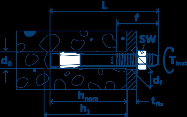 S-KA параметры монтажа