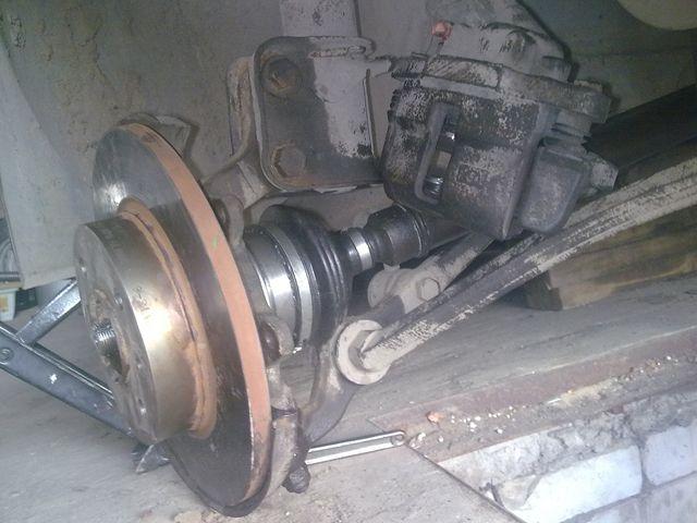 Замена наружного пыльника ШРУСа на ВАЗ 2109