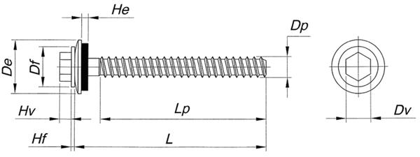 Размерная схема Harpoon HСС-R-S19