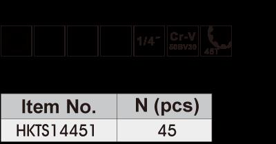HKTS14451 Особенности набора инструментов